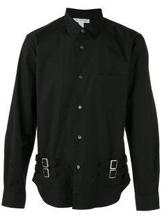 рубашка с пряжками по бокам Comme Des Garçons Shirt