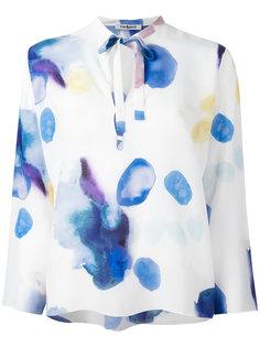 блузка с принтом и длинными рукавами Cacharel