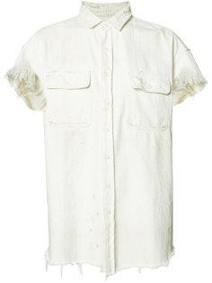 джинсовая рубашка с необработанными краями R13