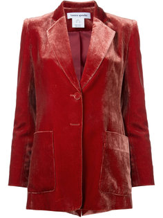 бархатный пиджак Velvet Bianca Spender