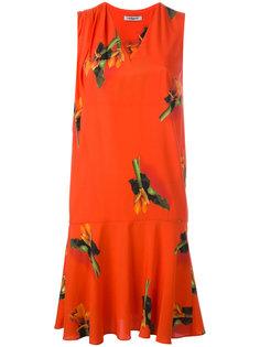 платье шифт с цветочным принтом Cacharel