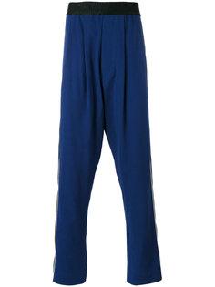 спортивные брюки с заниженной проймой Haider Ackermann