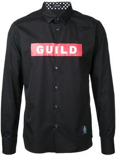 рубашка с принтом-логотипом Guild Prime
