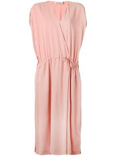 платье с запахом Jil Sander