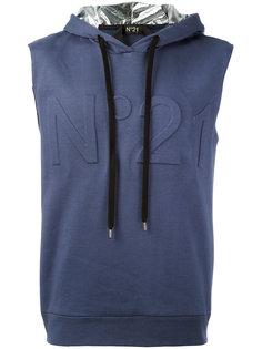 sleeveless hoodie  Nº21