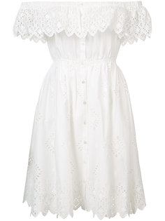 платье с приспущенными плечами Sea
