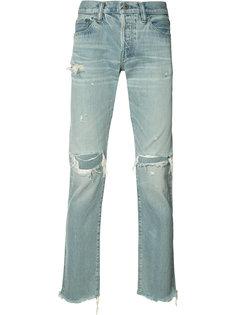 джинсы с потертой отделкой Simon Miller