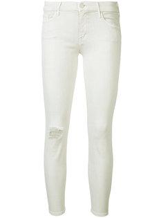 джинсы кроя скинни с потертой отделкой Mother