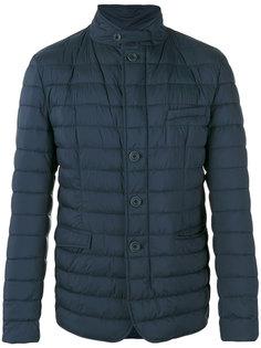 стеганая куртка с высокой горловиной Herno