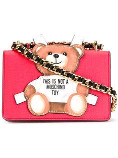 сумка на плечо с медведем Moschino