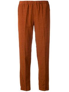 брюки с эластичным поясом Alberto Biani