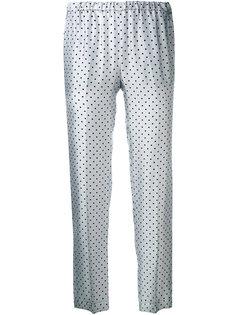 polka dot trousers Alberto Biani