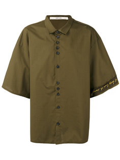 свободная рубашка с рукавами три четверти  Damir Doma