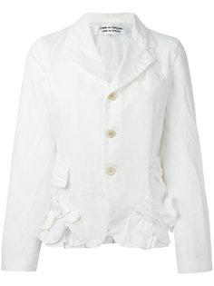 пиджак с рюшами Comme Des Garçons Comme Des Garçons
