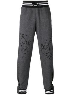 спортивные брюки с полосатой окантовкой Vivienne Westwood Anglomania