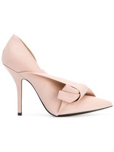 туфли с элементом банта Nº21