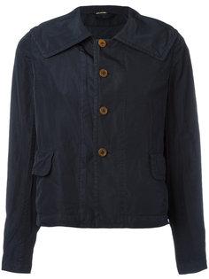 укороченная куртка с косым воротником Comme Des Garçons Comme Des Garçons