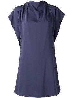 присборенное платье мини  Mm6 Maison Margiela