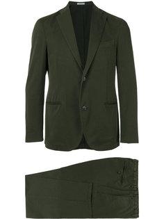 костюм-двойка с карманами с листочкой Boglioli
