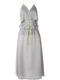 платье с завязками на поясе  Marios
