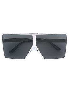 большие квадратные солнцезащитные очки Saint Laurent