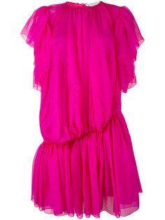 прозрачное платье с заниженной талией Gianluca Capannolo