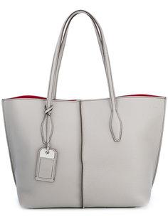 сумка-шоппер с декоративной биркой Tods Tod`S