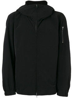 arm zip hooded jacket Attachment
