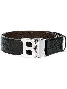 logo plague belt Bally