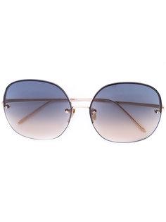 oversized sunglasses Linda Farrow