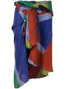 асимметричная юбка с завязками на талии Faith Connexion