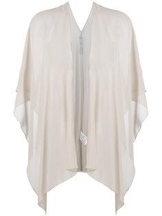 полупрозрачная блузка без застежки  D.Exterior