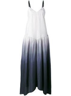 платье без рукавов с эффектом омбре  Twin-Set