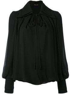 блузка с завязками на шее Plein Sud