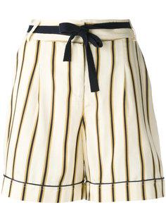 полосатые костюмные шорты Roberto Collina
