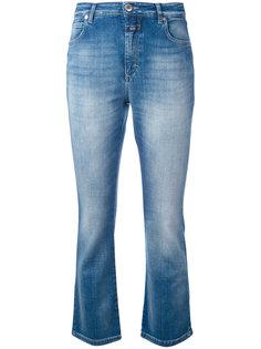 расклешенные укороченные джинсы Closed
