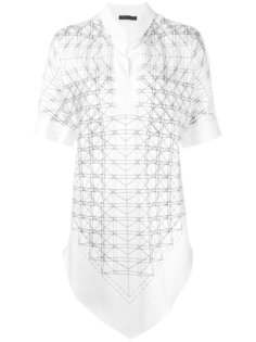 вышитая блузка Fabiana Filippi