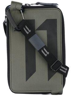 сумка на плечо с принтом-логотипом 11 By Boris Bidjan Saberi