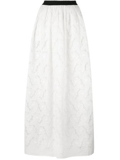 ажурная длинная юбка Blugirl