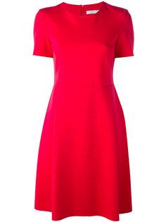 расклешенное платье с короткими рукавами  Harris Wharf London