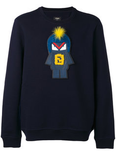 embroidered sweatshirt Fendi