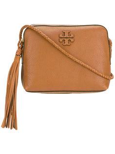 сумка через плечо с тисненым логотипом Tory Burch