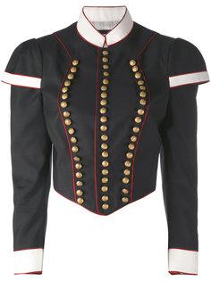 укороченный пиджак в стиле милитари Dsquared2