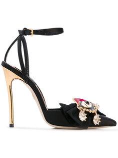 декорированные туфли-лодочки Dsquared2
