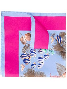 нагрудный платок с рисунком на морскую тему Kiton