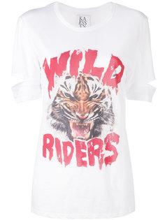 wild riders print T-shirt Zoe Karssen
