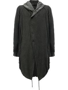 пальто с капюшоном Masnada