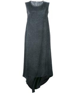 каскадное платье без рукавов  Isaac Sellam Experience