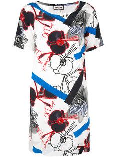 платье с графическим и цветочным рисунками Paul & Joe