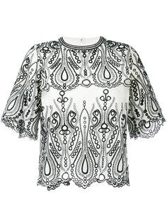 футболка с вышивкой Iro